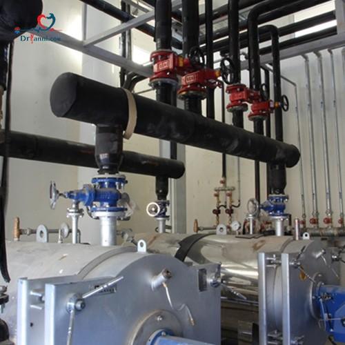 مراحل نصب موتورخانه شوفاژ